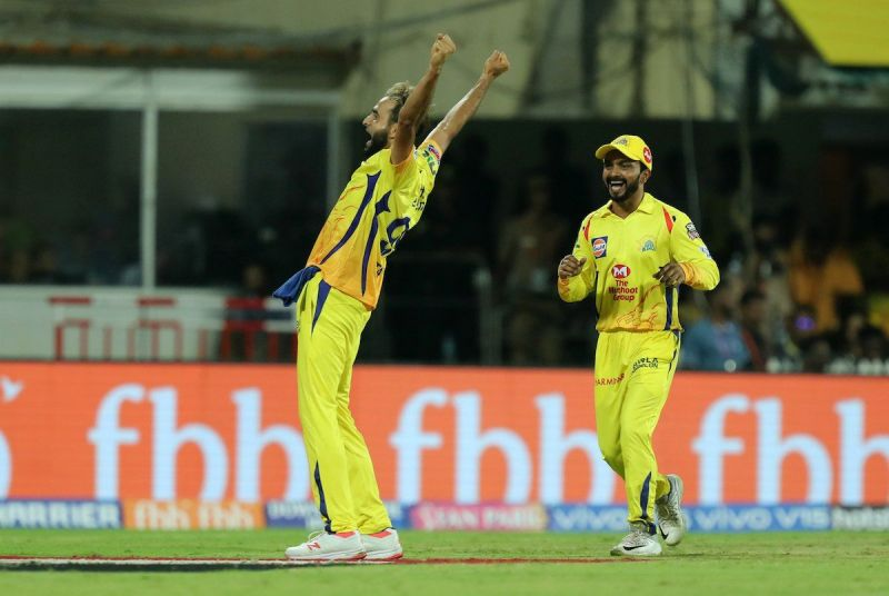 Imran Thahir takes 3 Wickets against RCB