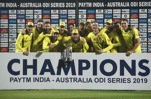ndia v Australia - ODI Series: Game 5I