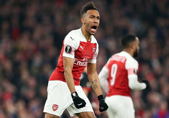 Aubameyang has rediscovered his scoring touch