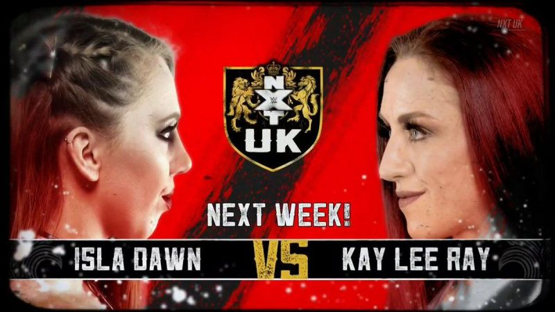 Isla Dawn will have her first match in a while.