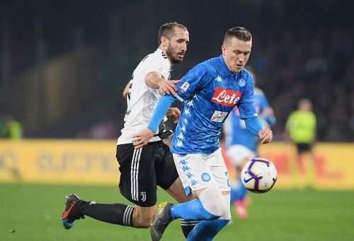 Zielinski impressed in the match