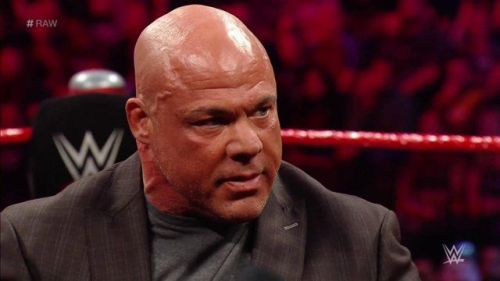 Kurt Angle will be facing Baron Corbin at WrestleMania 35 in his retirement match