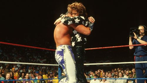 The reunion between the Macho Man and Miss Elizabeth was an all time great moment.
