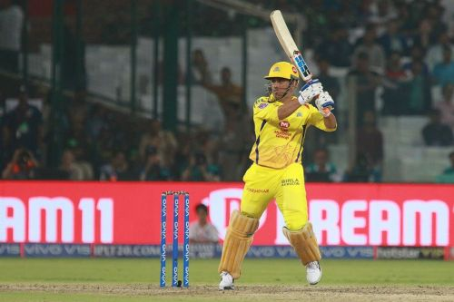 MS Dhoni played a good knock to steer his side home. (Image Courtesy: IPLT20)