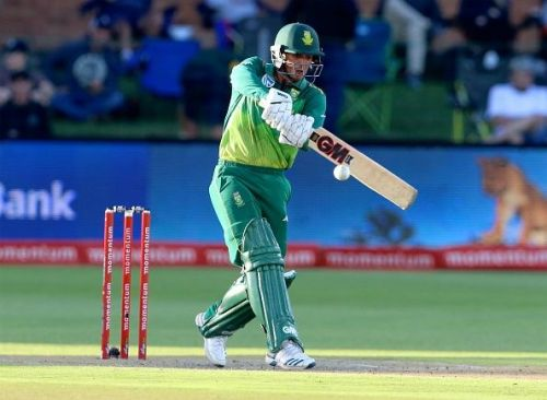 Quinton de Kock led the batting with 353 runs, with one century and three half-centuries.