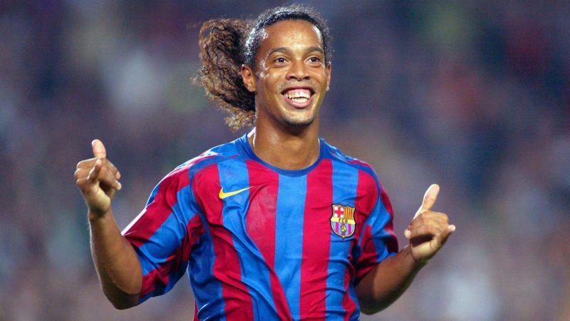 Ex Barcelona and Brazil star Ronaldinho