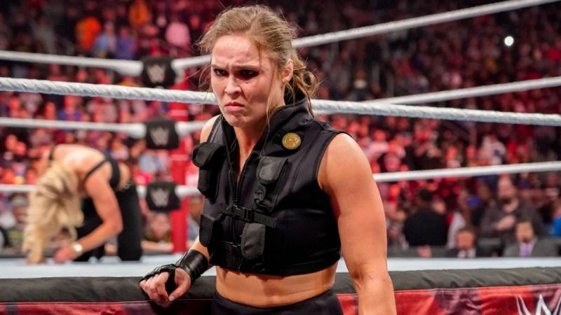 Ronda Rousey has been the Raw Women
