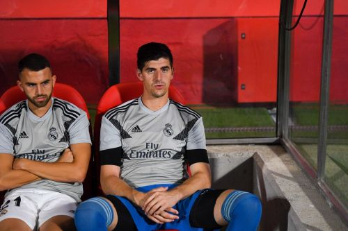 Zidane dropped Courtois to the bench in favour of Keylor Navas for the Celta Vigo game