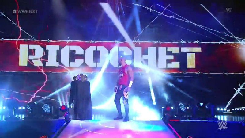 Ricochet had championship gold on his mind after a huge announcement on NXT