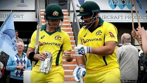 Aaron Finch and D'arcy Short