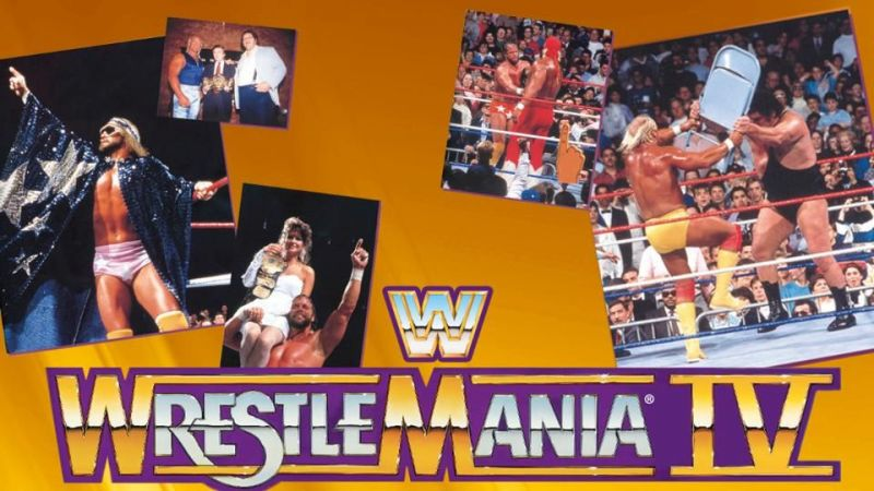 WrestleMania 4 spotlighted an unusual tournament structure.