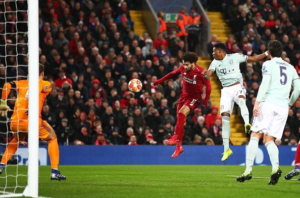 The first leg ended in a goalless draw at Anfield