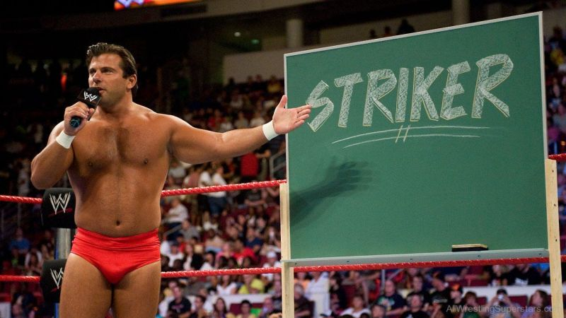 Striker worked in the WWE as a wrestler, then a commentator, before leaving in 2013.