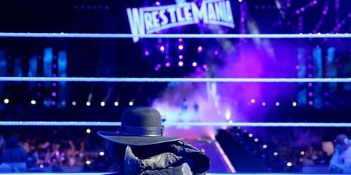 Undertaker left most of his gear in the ring after losing to Roman Reigns at Wrestlemania 33