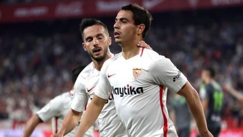 Ben Yedder scored a hat-trick for Sevilla