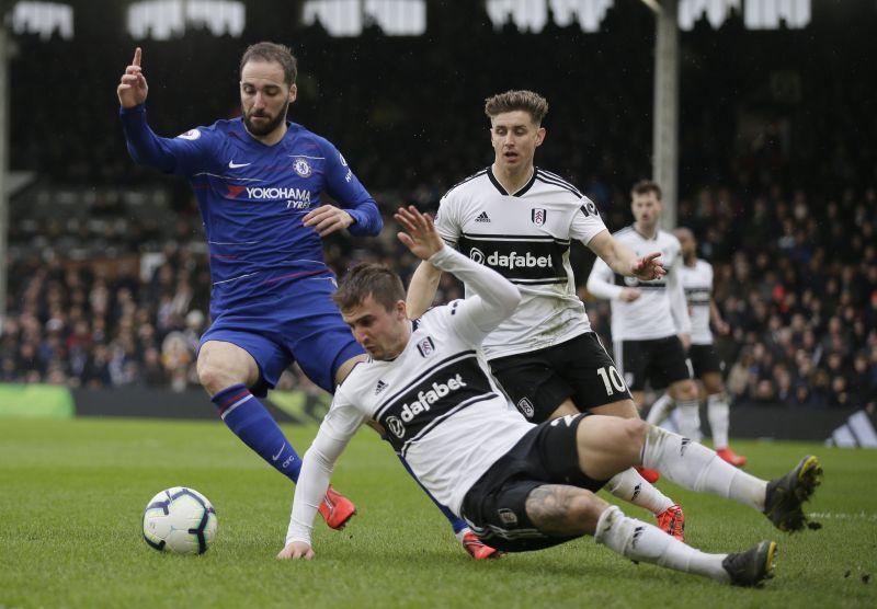 Image result for Fulham vs Chelsea 1-2