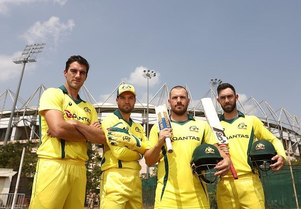 Aaron Finch has been retained as Australia