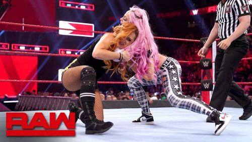 becky lynch won the beat the clock challenge on this week's raw