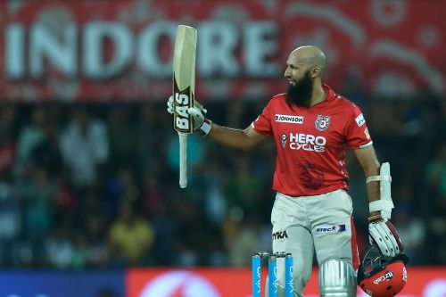 Hashim Amla played a stupendous knock against Rohit Sharma's Mumbai Indians