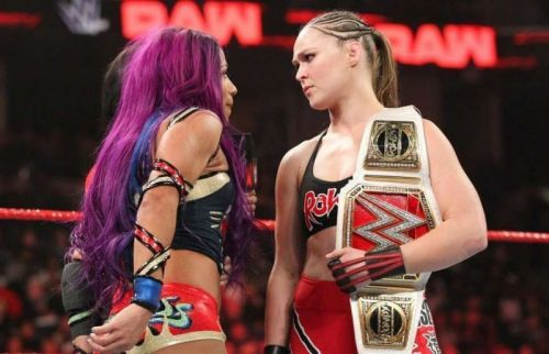 Ronda had a classic against Sasha at Royal Rumble