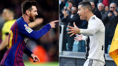 Cristiano Ronaldo has challenged Lionel Messi to test himself in another league