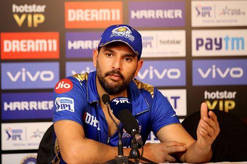 Yuvraj Singh is back! (Image Courtesy: IPLT20)