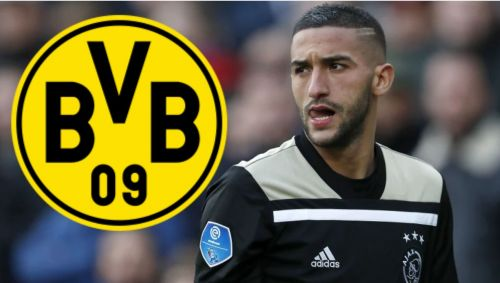 Hakim Ziyech has been targeted by many clubs recently - will Dortmund get him?