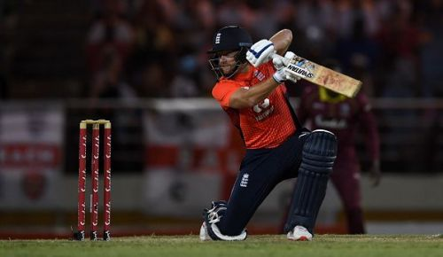 Jonny Bairstow's career best T20I score of 68 helps England to a 6 wicket win against West Indies