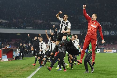 Juventus moved a step closer to the Serie A title