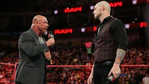 Baron Corbin is heavily rumored to retire Kurt Angle at WrestleMania 35