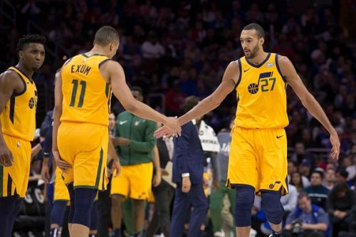 Rudy Gobert is one of the few traditional centers in the league today