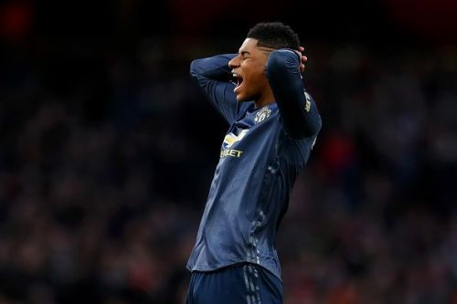 Rashford and Manchester United were left to rue their missed chances
