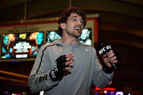 Exclusive: Ben Askren is focused on his fight with Robbie