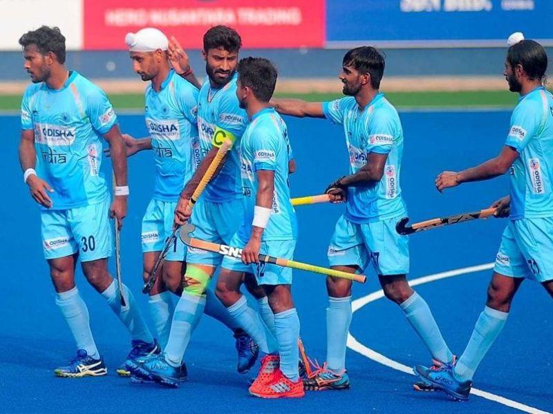 The India team demolished Poland