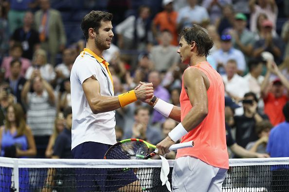 68aa5300006ad 2019 Indian Wells BNP Paribas Open Quarter Finals  Rafael Nadal vs ...
