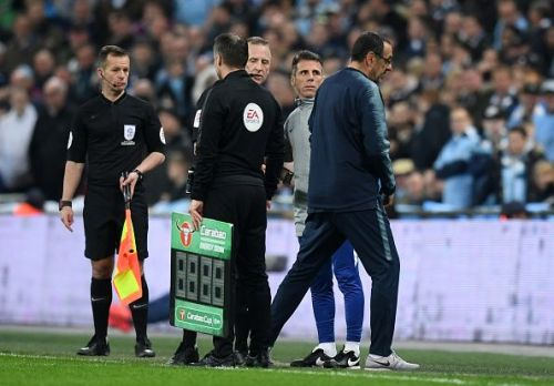 The Kepa incident in the Carabao Cup final was an act of insolence, not passion.