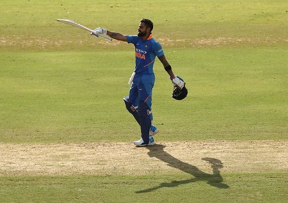Virat Kohli scored his 40th ODI century