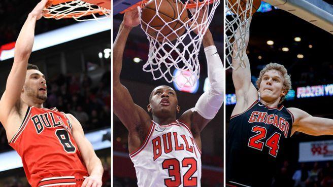 The Bulls trio looks promising for the future.