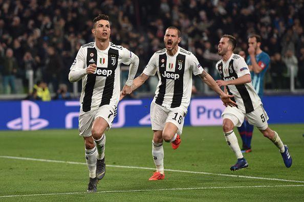 Ronaldo is enjoying a great season at Juventus