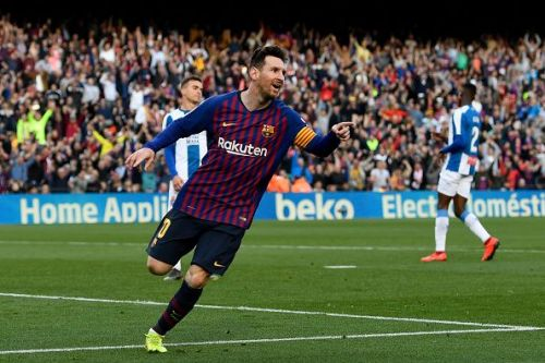 Messi is now Barcelona's second highest appearance maker