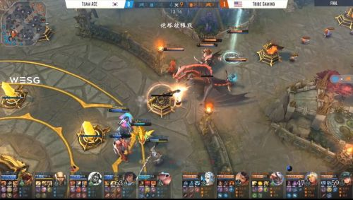 Some in-game action from the game.
