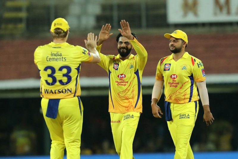 Ravindra Jadeja Played a crucial role in csk. (Fielding, Bowling)