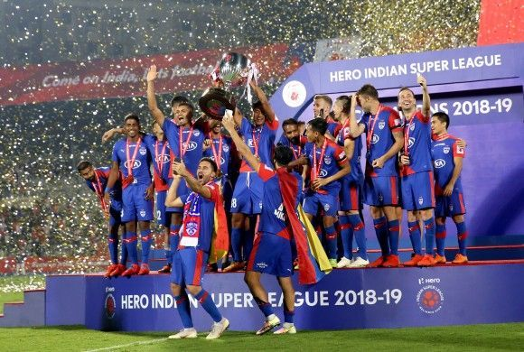 Bengaluru FC clinched the title for the first time.