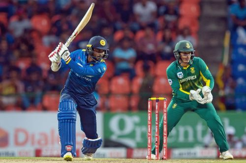 Quinton de Kock played a splendid knock in the first ODI
