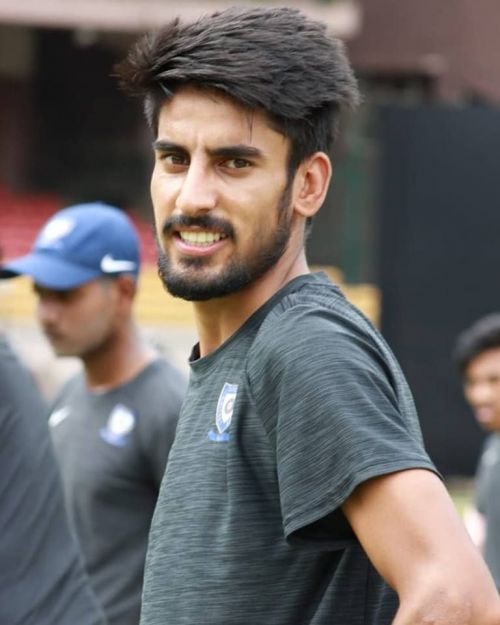 Mujtaba is a young left-arm pacer from Jammu and Kashmir
