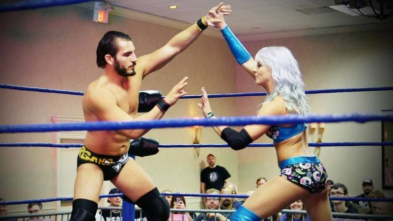 Candice LeRae has become well-known for her intergender matches