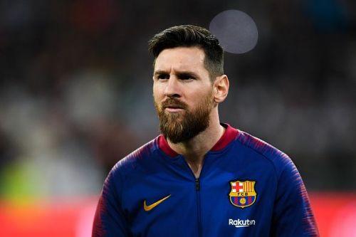 Lionel Messi scored 26 league goals this season