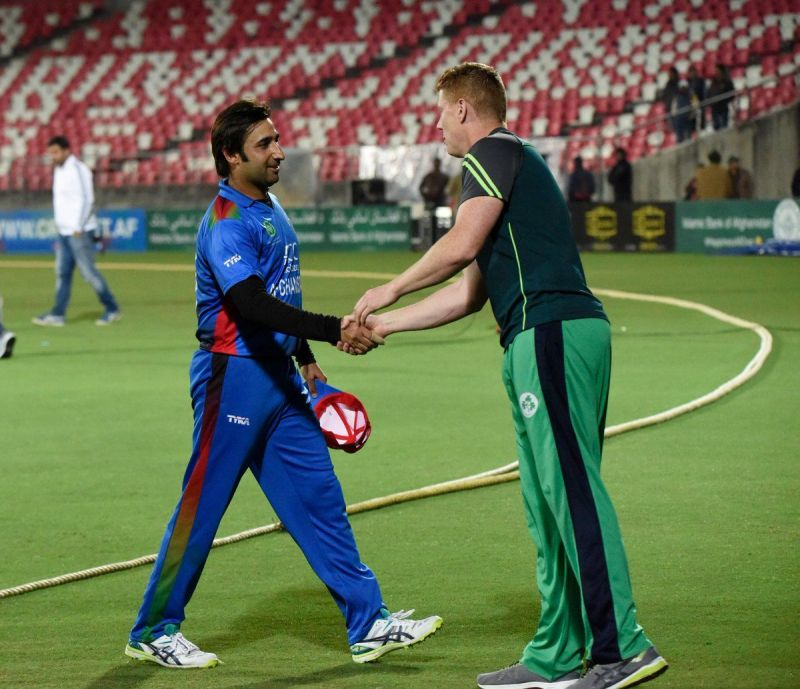 Asghar Afghan has led his side tremendously well against a strong Irish team