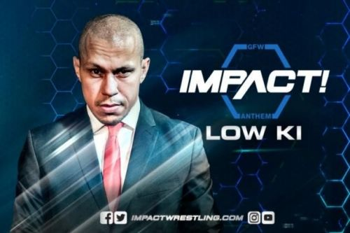 One of the company's most iconic stars, Low-Ki competed in the very first aired Impact match.
