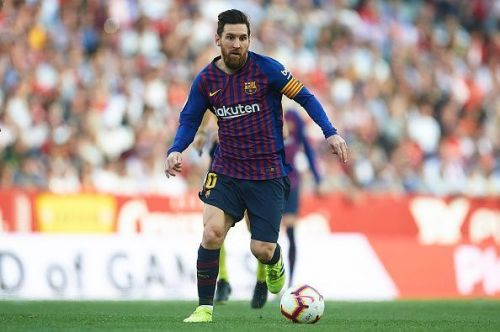 The Argentine has played for Barcelona all his life